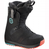 Salomon Ivy Boa Str8jkt Boot - Women's Bk/teal Blue/bk 7.5
