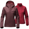 The North Face Helata Triclimate Jacket - Women's Deep Garnet Red Sm