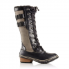 Sorel Conquest Carly II Boot - Women's Black/kettle 11.0