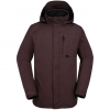 Volcom Jan Jacket Burgundy Xl