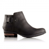 Sorel Lolla Ankle Boot - Women's Dark Grey/black 7.0