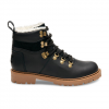 Toms Summit Boot - Women's Black Leather 9.5