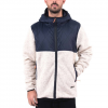 Holden Sherpa Zip Up - Mens Oatmeal/ink Md