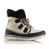 Sorel Cozy Carnival Boot - Women's Bisque/black 10.0