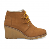 Toms Desert Wedge Boots - Women's Drizzly Grey Suede 10.0