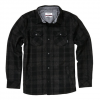 Nixon Corporal Wool Jacket Dark Gray Lg