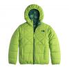 The North Face Reversible Perrito Jacket - Boy's Chive Green Xs(6)