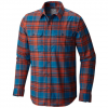 Mountain Hardwear Stretchstone Long Sleeve Shirt Phoenix Blue Xl