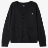 Obey Court Cardigan  Black Md