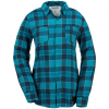 Volcom Granite Flannel Shirt - Women's Teal Sm