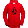 Volcom JLA Stone Fleece Fire Red Md