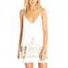Billabong Shine On Slip Dress - Women's White Cap Lg