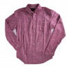 Obey Holden Woven LS Burgundy Lg
