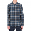 Volcom Hewitt Long Sleeve Flannel Navy Md