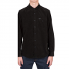 Volcom Hackley Long Sleeve Corduroy Shirt Stealth Xl