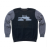 Spacecraft Snowcat Raglan Crew Black M