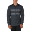 Vans Wilton Buttondown Shirt Black Canyon Stripe Md