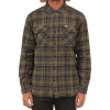 Captain Fin Badger Flannel Charcoal Lg