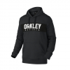 Oakley Hooded Fleece Jet Black Heather Xl
