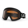 VonZipper Trike Goggle - Kids' Black Satin/persimmon One