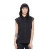 Obey Heart Noir Shirt - Women's Black Lg