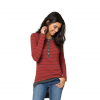 Element Manhattan Thermal Rib Sweater Top Rust Sm