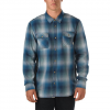 Vans Conroy Buttondown Shirt Dress Blues/north Atlantic Sm