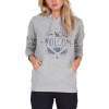 Volcom Barrel Out Hoody - Women's Heather Grey Sm