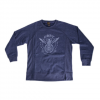 Obey Peace And Justice Eagle - Women's  Heather Navy Lg