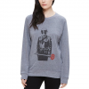Obey Sadistic Florist Crew - Women's  Heather Grey Sm