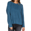 Element Farewell Sweater - Womens Vintage Blue Lg