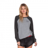 Volcom Sweet Sweat Fleece Sweatshirt - Women's Heather Grey Lg