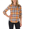 Vans Meridian Flannel - Women's White Sand Xl