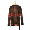 Obey Slowdive Cardigan - Women's Brown Multi Lg