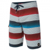 O'Niell Santa Cruz Stripe Boardshorts White 38