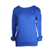 Obey Wakefield Crew Neck Sweatshirt - Womne's Crown Blue Lg
