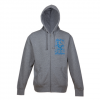 Bonfire Chalk Hoodie Heather Grey Md