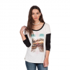 Volcom Daydreamer Long Sleeve Tee - Women's Vintage White Lg