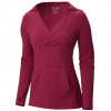 Mountain Hardwear Dryspun Pullover Hoody - Women's Red Plum Xs