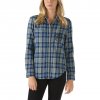 Vans Laurel Flannel - Women's Frost Gray Md