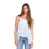 Billabong Free Daze Tank - Womens Blue Cloud Lg