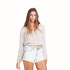 Billabong Forever Sun Crop Top - Womens Skl Lg
