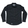 Electric Fairview Solid L/S Shirt Blk Md