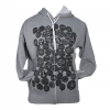 Obey Badge Of Honor Zip Hoodie - Womens Gun Sm