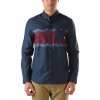 Vans Ranson Shirt  Navy Tie Dye Sm