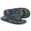 Freewater Zac Print Sandal - Men's Salt Water Fish Print 9