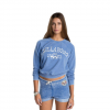 Billabong Falling Back Crew - Womens Electric Blue Lg