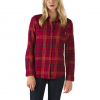 Vans Adolescence Flannel - Women's Rumba Red Lg