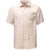 The North Face Short Sleeve Pursuit Shirt Zinc Grey Uncharted Print