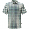 The North Face Short Sleeve Getaway Shirt Blizzard Blue Plaid Lg